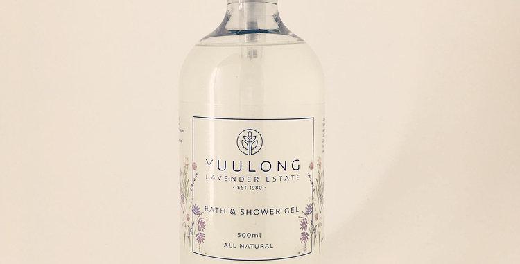 Lavender bath & shower gel 500ml
