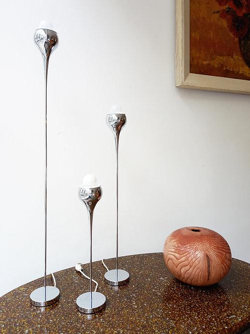 Italian table lamps, set of 3