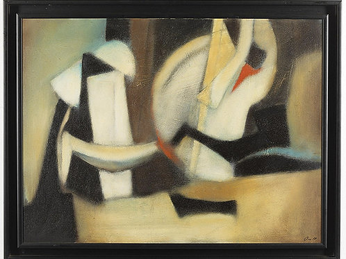 Oil on Canvas, De Lutti Pierluigi  (b. 1959)