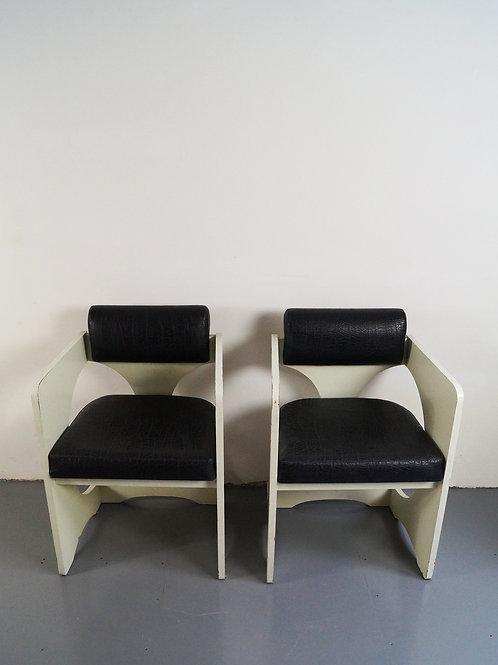 Italian Armchairs, 1970s