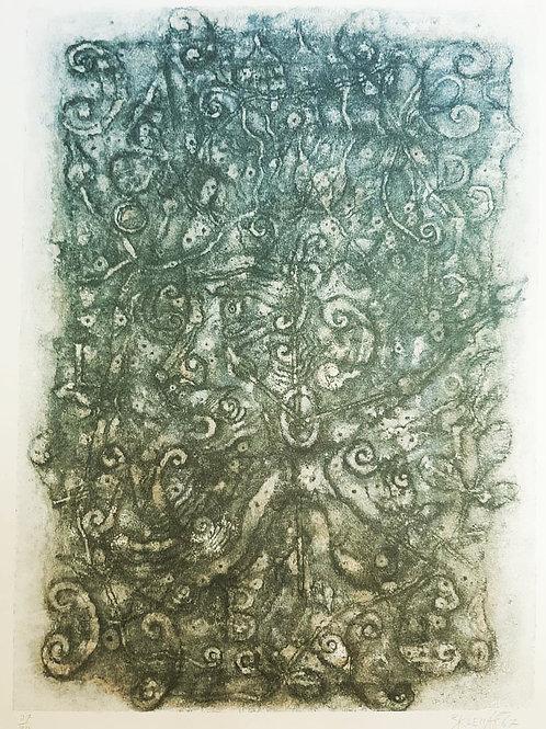 Zdenek Sklenar Lithograph (Czech, 1910–1986)