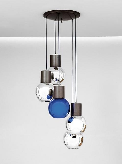 Italian ceiling Light, 1970s