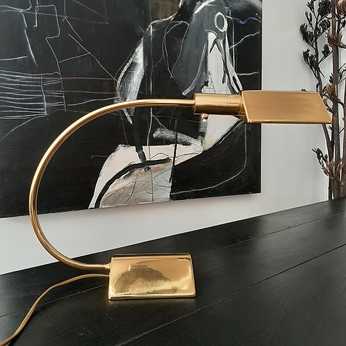 20th century Brass desk lamp