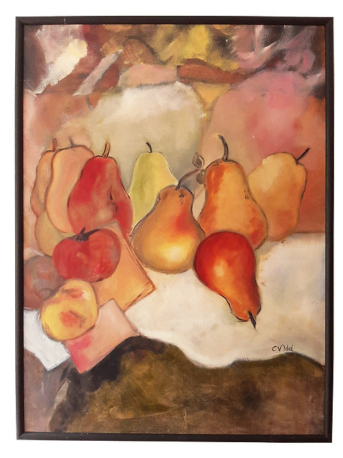 Still Life Oil Painting, by french artist Catherine Vidal