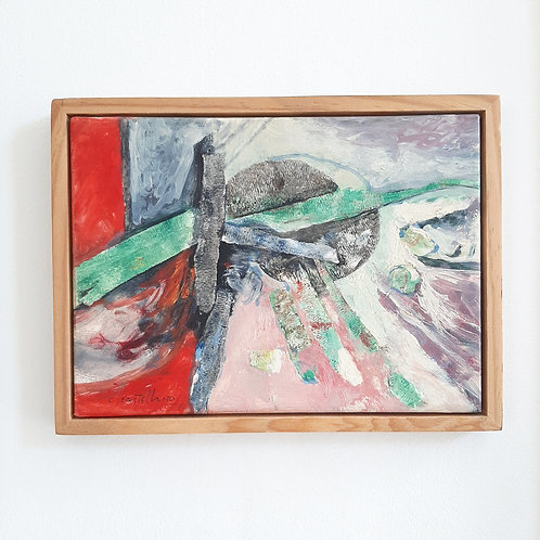 Oil on Canvas, Signed 1973
