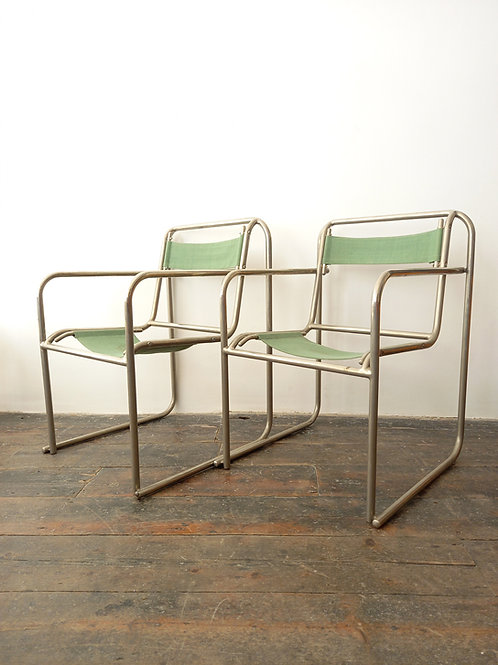 Set Of 2 'Rp 7' Bauhaus Chairs By Bruno Pollack, 1932