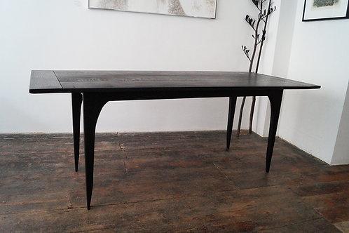 Ebonised Ash Dining Table, by John A. Harris