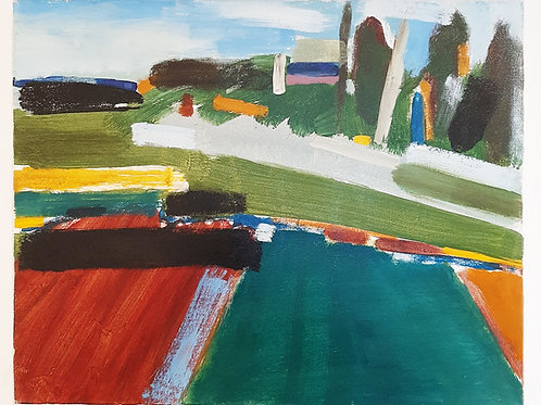 Acrylic on Canvas, by Debbie Golsmith