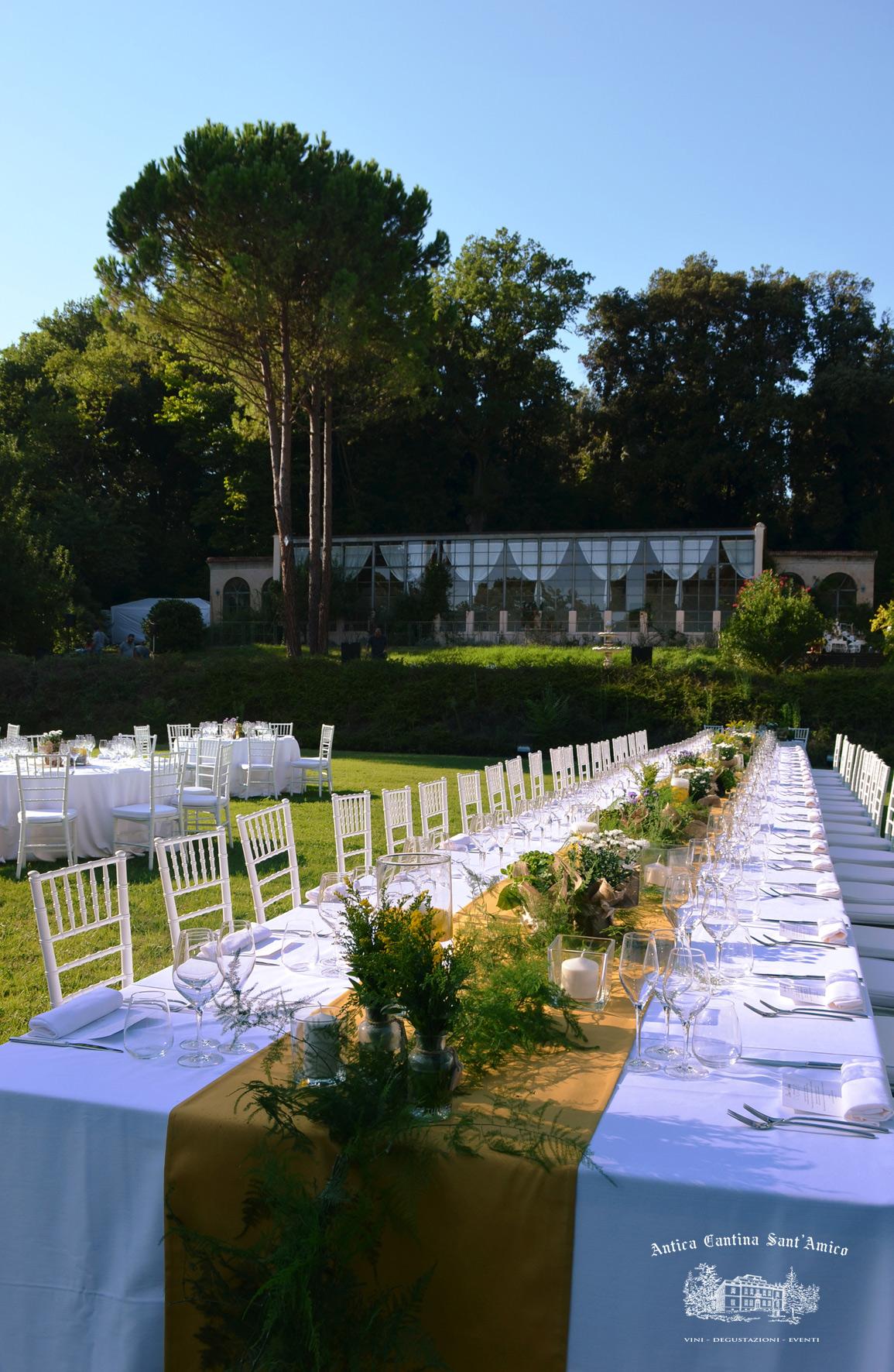 Tavolo Imperiale Orangerie S.Amico