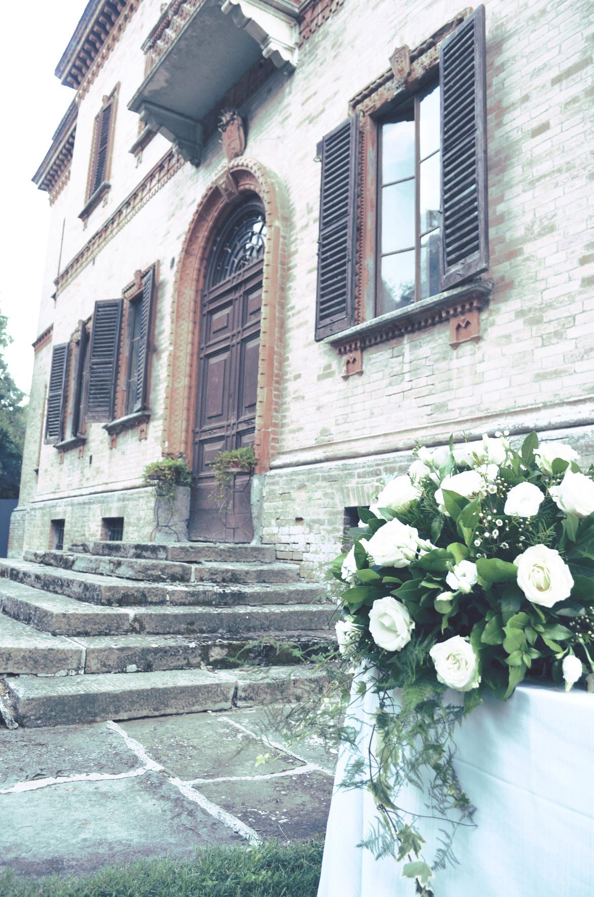 Decorazione Floreale a Villa S.Amico