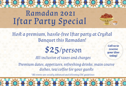 Ramadan 2021 Iftar Party
