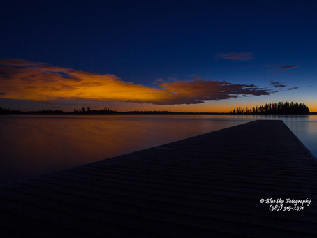 Stunning Sunset at Elk Island National Park