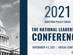 Addiction Policy Forum National Leadership Conference 2021