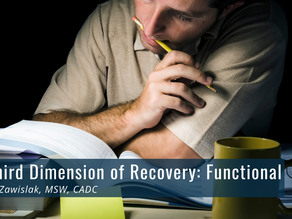 The Third Dimension of Recovery: Functional