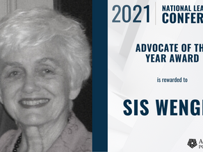 2021 Addiction Policy Forum Advocate of the Year Awarded to Sis Wenger