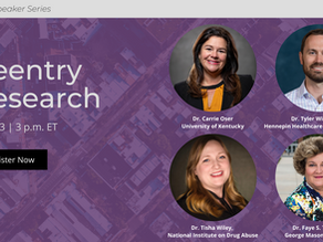 JCOIN Speaker Series: Reentry Research