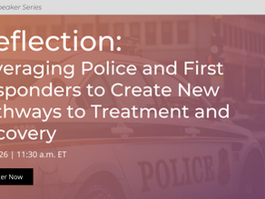 JCOIN Speaker Series: Deflection - Leveraging Police and First Responders to Create New Pathways