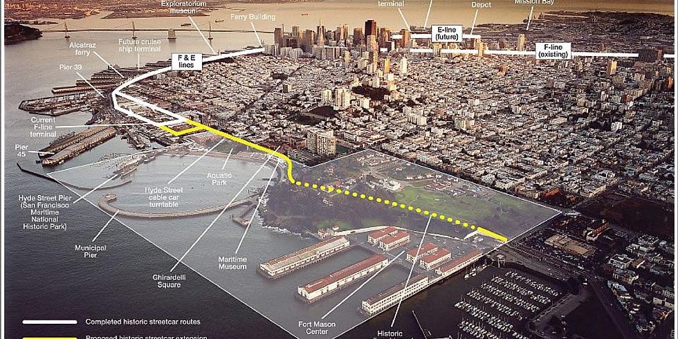 E/F Line Extension - Multi-Modal Transportation Vision for Fort Mason/Aquatic Park
