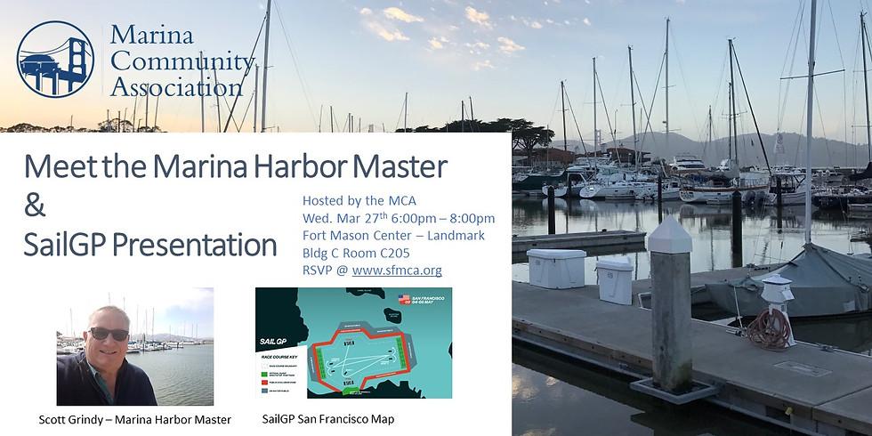 Meet the Marina Harbor Master & SailGP Presentation