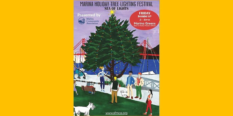 The Marina Holiday Tree Lighting Festival - Sea of Lights