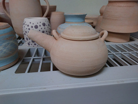 Learning How to Throw - Pottery