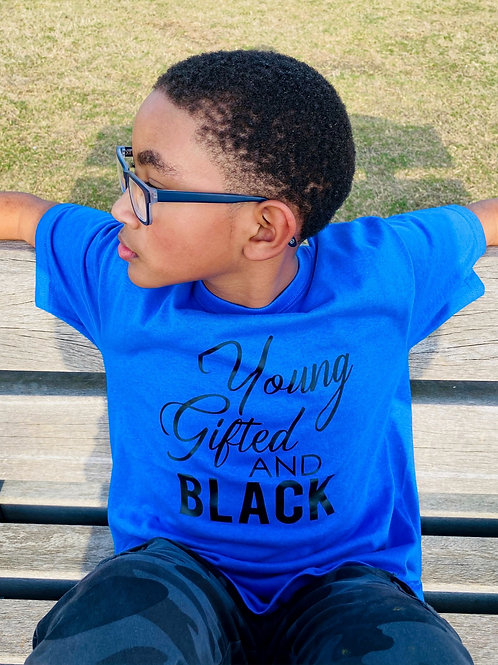 Young, Gifted, and Black T-Shirt: Juneteenth Collection
