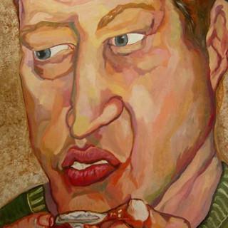 Andrew Eating Wings, 2003