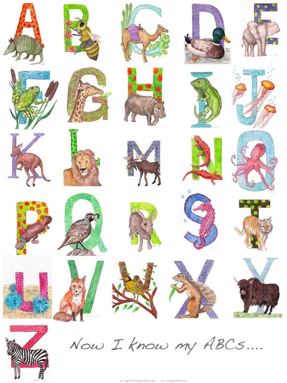 Alphabet Poster, 2014
