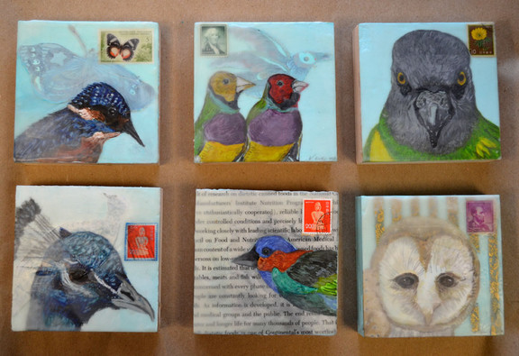 "Assorted 4"" x 4""s"