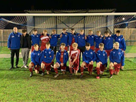 (3) ROFFEY U17s vs MONTPELIER VILLA U17s (1) WIN AWAY 06/12/20