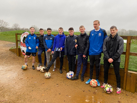 ROFFEY U18s FOOTGOLF