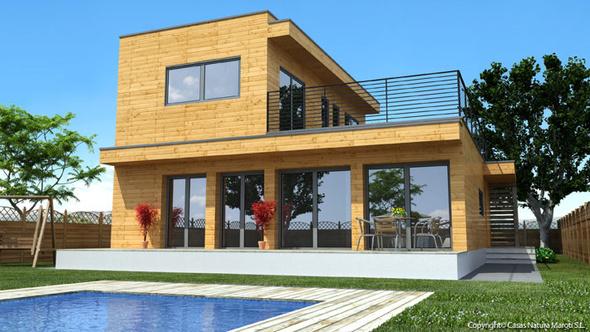 ossature bois-maison ARTMABATI