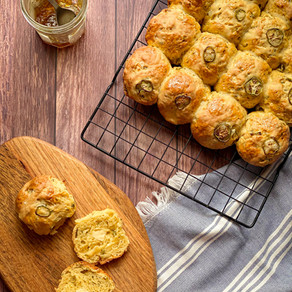 Easter Special: Savory Hot Cross Buns!