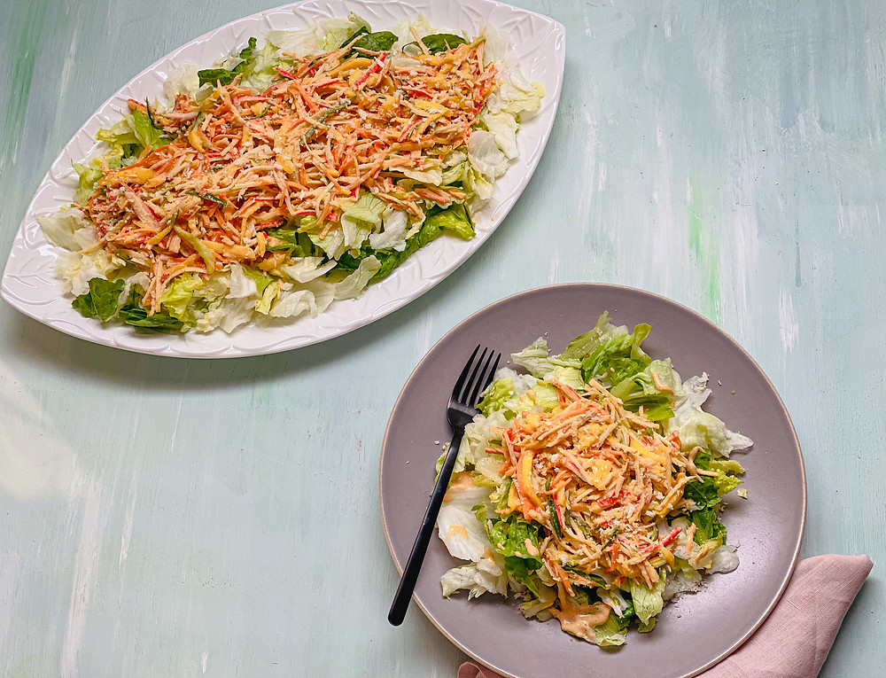 picture of spicy crab or Kani Salad