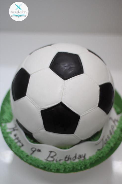 Boys and their love for football
