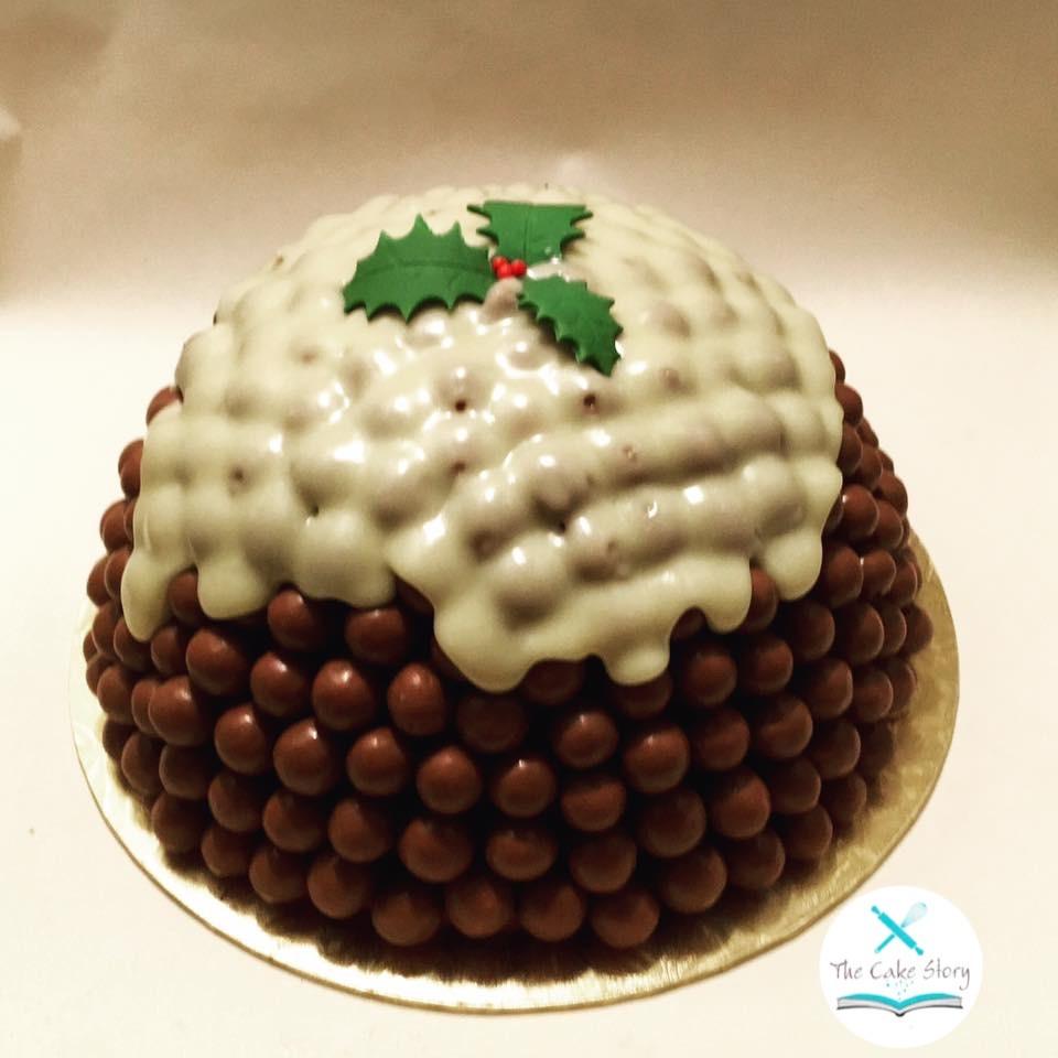 Christmas Pudding cake?
