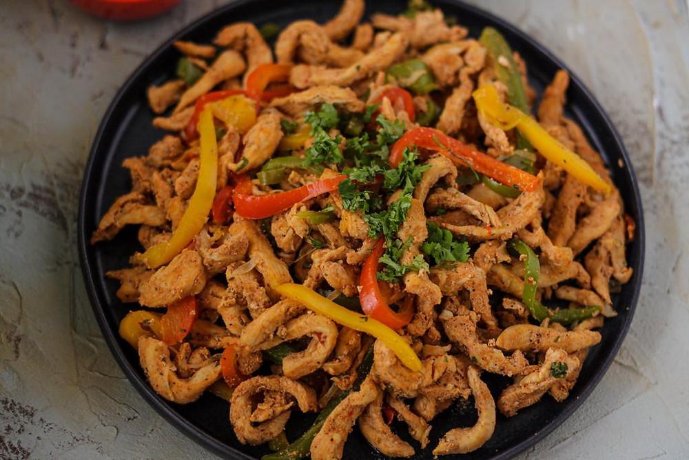Chicken Fajitas Homemade Recipe