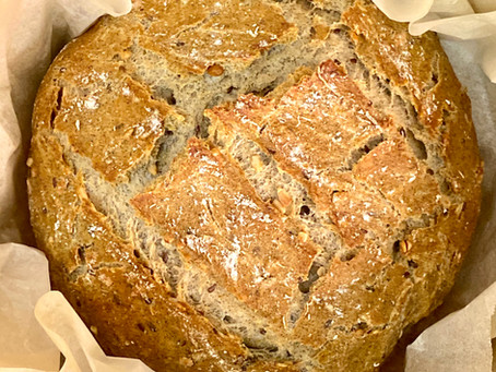 Sunflower Flaxseed Whole-Wheat Bread
