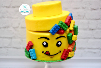 Lego cake for a lego lover
