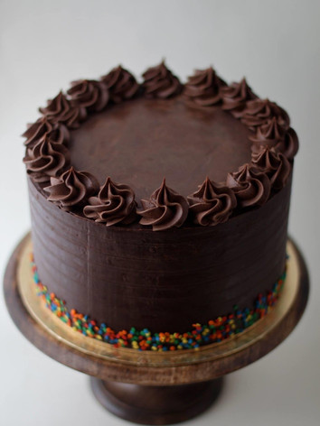 Simple but perfectly excecuted chocolate cake