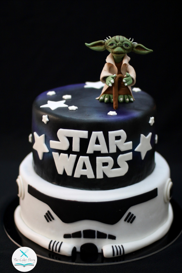 May the Force be with u cake!