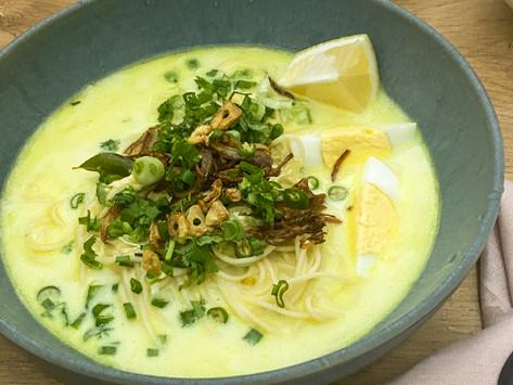 Khow Suey (Burmese Noodle Soup)