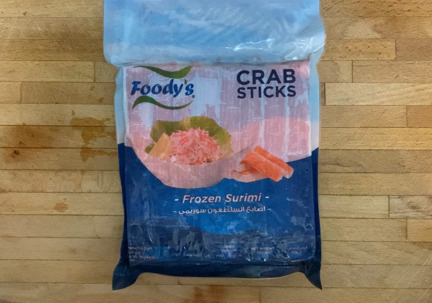 picture of a pot of crab sticks