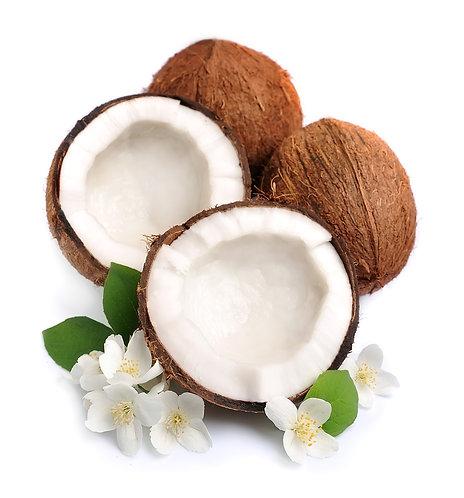 Massage bien-être à l'huile de coco
