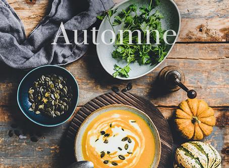 L'automne : les aliments de saison