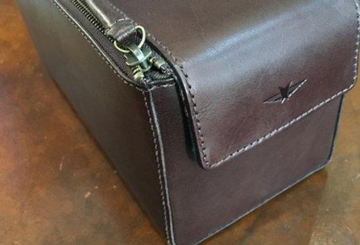 Gentleman's Leather Grooming Bag