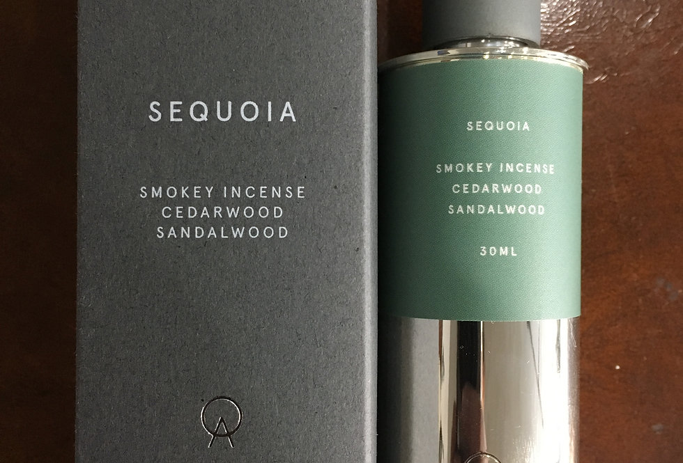 Gentleman's Cologne Sequoia Smokey Incense