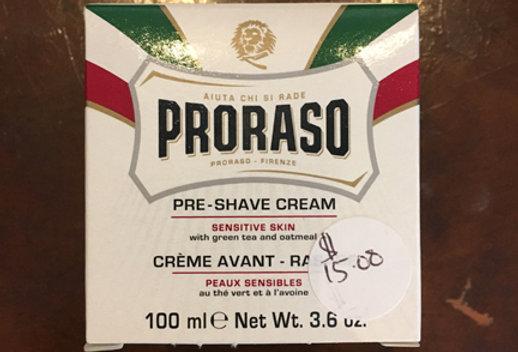Gentleman's Pre Shave Cream