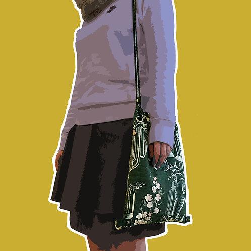 Koi Drawstring Backpack/Crossbody