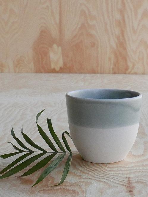 Lys espresso cup, grey blue